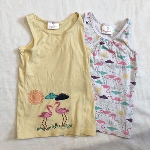 Lot of 2 Hanna Andersson tank tops, 6